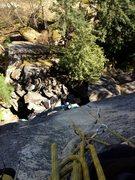 Rock Climbing Photo: sentry box 12a