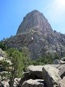 Rock Climbing Photo: Approaching the SW Shoulder