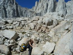 Rock Climbing Photo: Mt. Whitney, CA