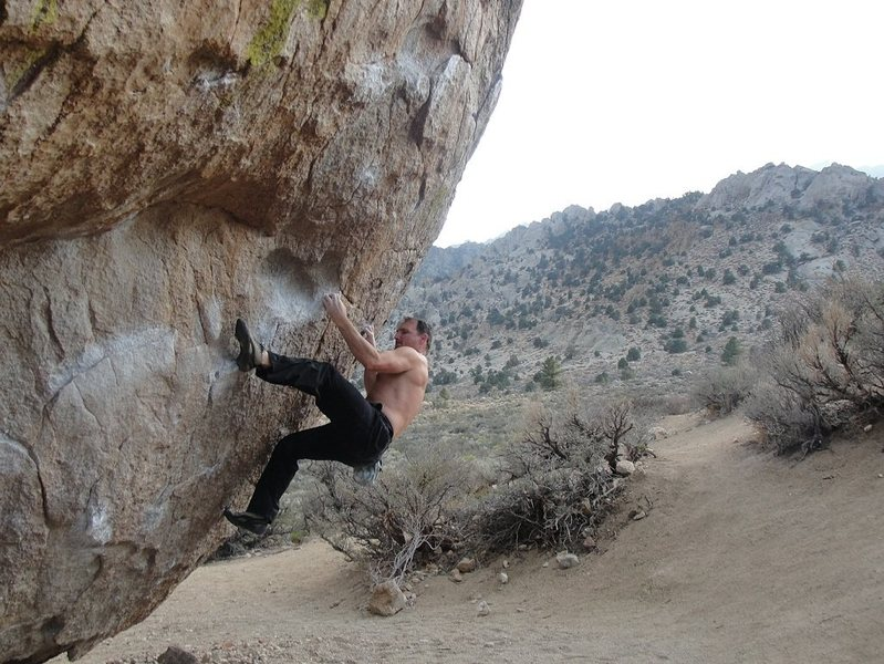 Rock Climbing Photo: Bouldering at the Buttermilks