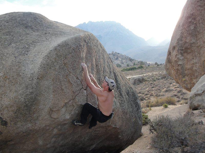 Rock Climbing Photo: Bouldering at the Buttermilks
