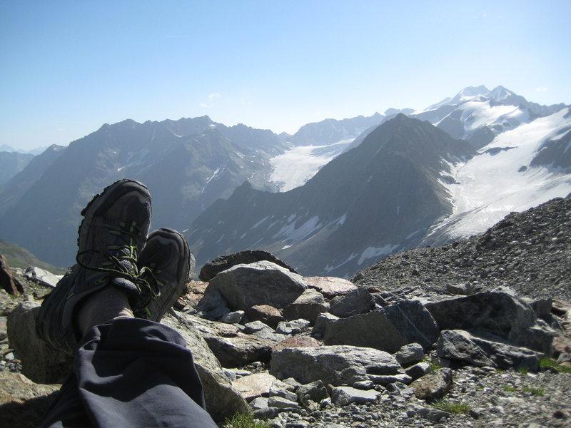 Ölgrubenjoch, Ötztaler Alpen, Austria