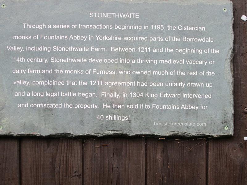 Stonethwaith hamlet
