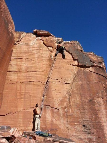 Atman in Calico Basin Red Rocks NV Mostafa Noori