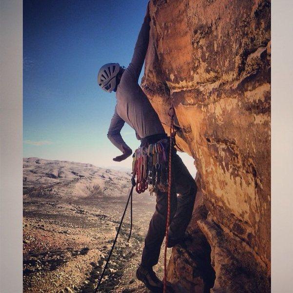 Triassic Sands in Black Velvet Canyon Red Rocks NV Mostafa Noori