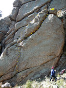 Rock Climbing Photo: The line(s).