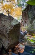 Rock Climbing Photo: Running another lap.