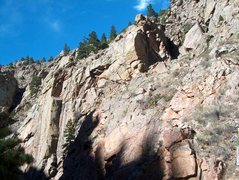 Rock Climbing Photo: A pic of some of the Eden Area. Upper Node with ro...