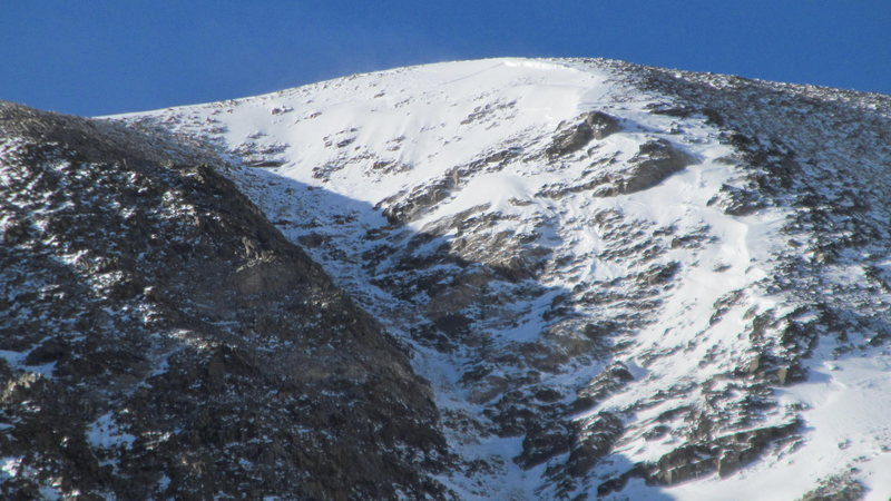 North Star avalanche.
