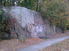 Rock Climbing Photo: Lawrence Road Cut.