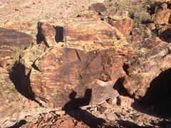 Rock Climbing Photo: Easy Does It beta.