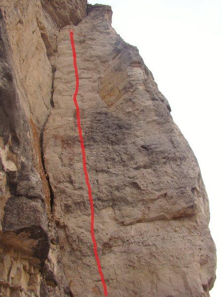 Rock Climbing Photo: Rollin' With A Bowlin, 5.13a