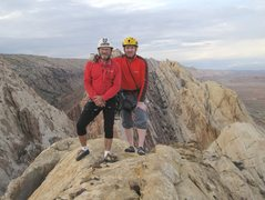 Rock Climbing Photo: Summit FA Berghaus Red. Utah P and A Ross