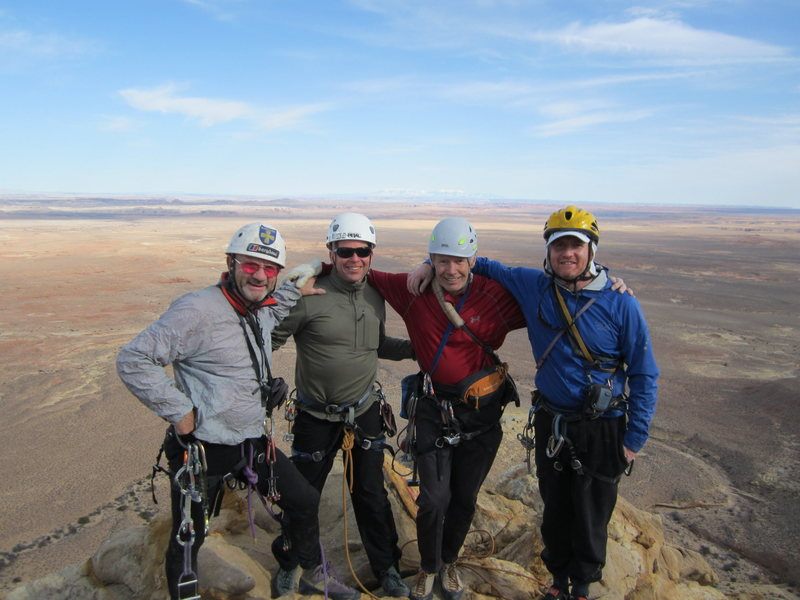 On Summit . FA Leaving America.2013. P.Ross, Russ Austin ,Gene Vallee Andy Ross