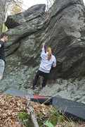 """Rock Climbing Photo: Maggie on """"Parallelascope"""""""