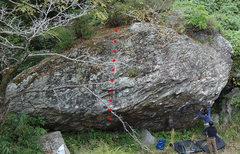 Rock Climbing Photo: 5Q