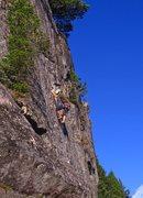 Rock Climbing Photo: Nick on p3 of Lovin Arms.