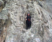 Rock Climbing Photo: Back in my egg unit