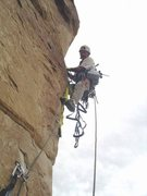 Rock Climbing Photo: FA Napes Needle, San Rafael Swell Utah 2006