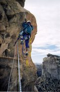 Rock Climbing Photo: FA Resurrection Tower,Utah