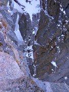 Rock Climbing Photo: Taylor seconding pitch 1.  Photo: Josh Thompson.
