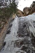 Rock Climbing Photo: West side flows.