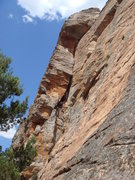 Rock Climbing Photo: Watchtower Crack, Mount Arapiles, 11/21/2010