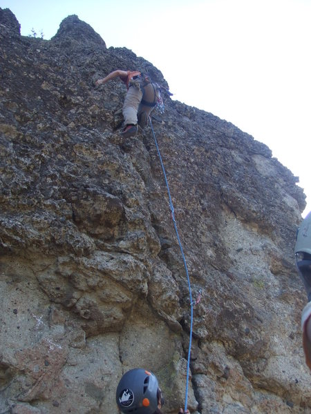 Rock Climbing Photo: this shows the first couple clips