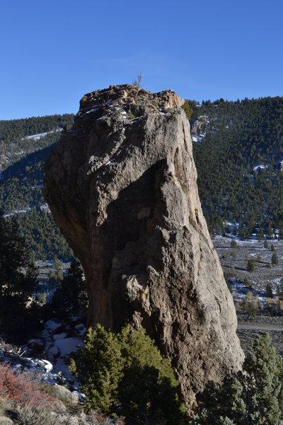 Rock Climbing Photo: Scud Pinnacle