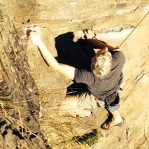 Rock Climbing Photo: Me on Kamakaze 5.10a (Ozone)