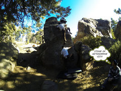 Rock Climbing Photo: messing around with the gopro at pine today, got s...