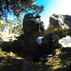 messing around with the gopro at pine today, got some decent shots of this route!