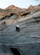 Rock Climbing Photo: Having fun on Optical Illusion.