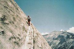 Rock Climbing Photo: Having Fun on Crest Jewel