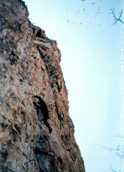 Rock Climbing Photo: Having fun on Cold Cuts.