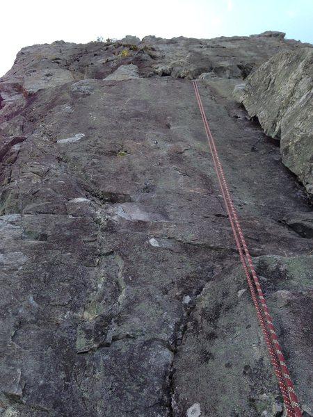 Rock Climbing Photo: Silver A