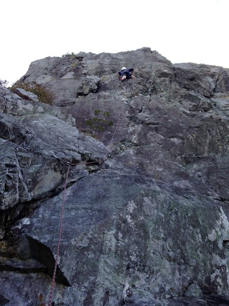 Rock Climbing Photo: Silver B