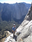 East Buttress of El Capitan, Top of Pitch 11