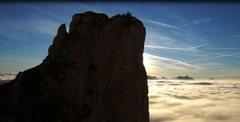 Rock Climbing Photo: L. Ron Hubbard - Mulaz Climbing Route