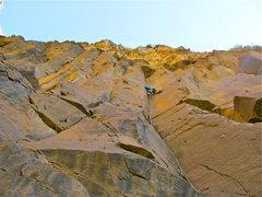 Rock Climbing Photo: On the onsight