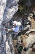 Rock Climbing Photo: Black Crack birds-eye view