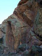 Rock Climbing Photo: Swallow Crack