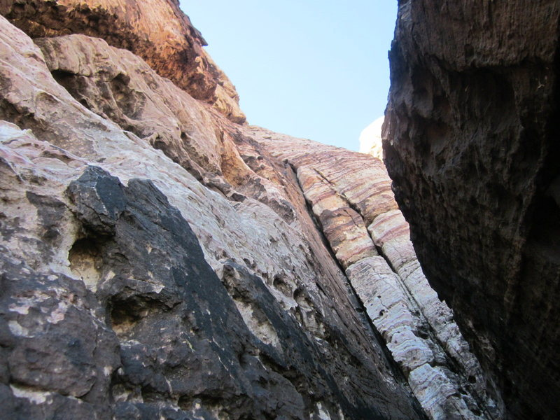 This would be the top of what I believe is the intended pitch 1 belay.