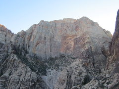 Rock Climbing Photo: View of the Rainbow Wall from the top of the forma...