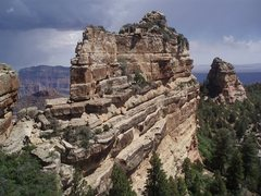 Rock Climbing Photo: Tritle Peak, N.Rim, GCNP.
