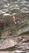 Rock Climbing Photo: sticking the crux on silverback