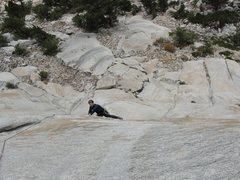 Rock Climbing Photo: My good friend Keith Hancock having fun on AWD!