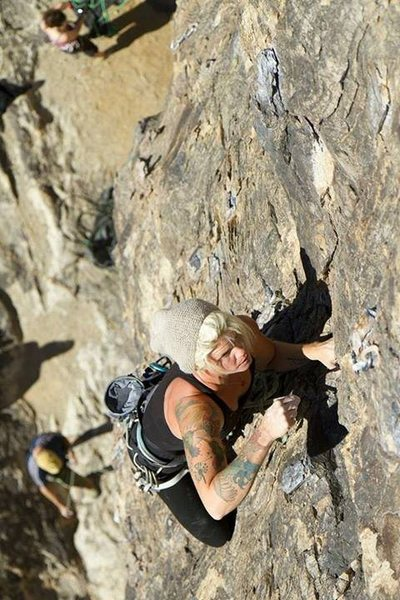 Rock Climbing Photo: Welcome to New Jack 5.10a