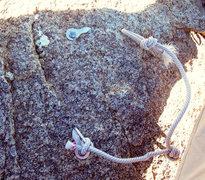 Rock Climbing Photo: Eeek, I wonder who got the jolt when this thing sn...