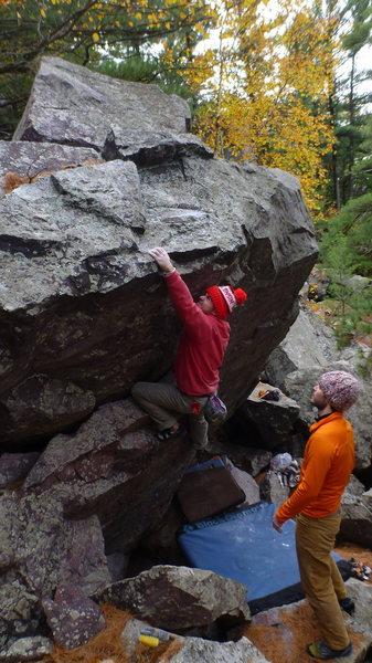 Rock Climbing Photo: Vinny sending.